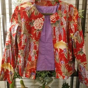 Jackets & Blazers - Vintage Koi Jacket